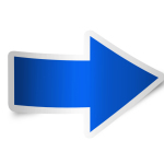 right-arrow-icon-blue-isolated