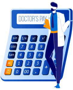 Doctors Pay Calculator