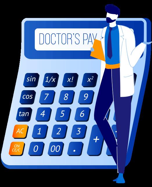 Doctors Pay Calculator