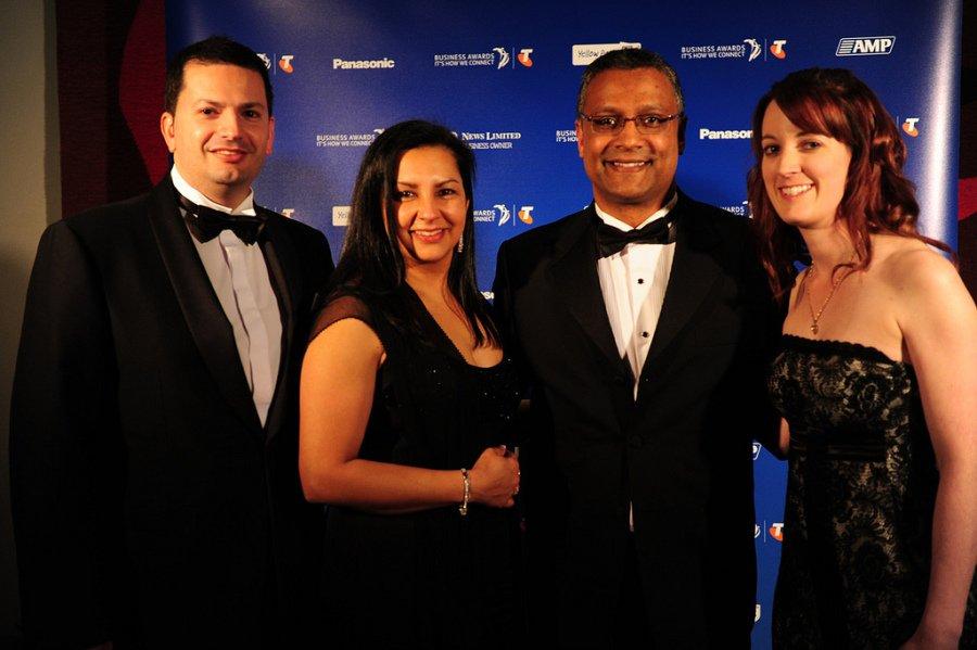 telstra 2011 awarding Health and life