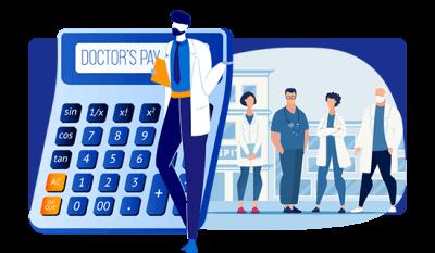 Unique Doctors Pay Calculator™